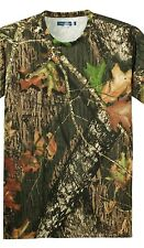 NEW Mossy Oak Break Up Mens Size XS-L Long Sleeve Dri Wick Fit Camo LS T-shirts