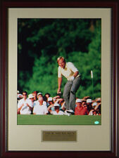 Jack Nicklaus 1986 Masters The Putt Framed Photo 11x14 OR 16x20