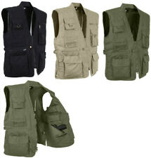 Multi-Pocket Cargo Tactical Plainclothes Concealed Carry Travel Vest rothco 8567