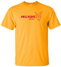 Pegasus Airlines Retro Logo Turkish Airline Aviation T-Shirt