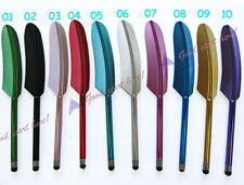 Hot Feather Capacitive Stylus Touch Screen Pen for Apple iPhone 4G 4S 3GS iPod