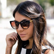 Women Sunglasses Cat Eye Designer Celebrity Retro Vintage Fashion