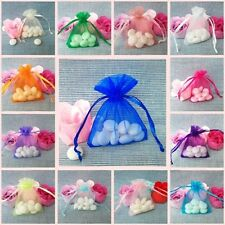 Wedding Organza Candy Favour Jewelry Bags (100 50 25)pc wholesale lots 30 colors