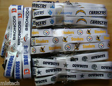 NFL Breakaway Lanyard Keychain RETRO THROWBACK Official licensed ( ALL TEAMS )