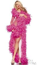!  SEXY EXOTIC FEATHERS GLAMOUR ROBE LINGERIE! COLORS!