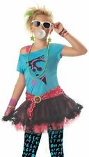 Tween Girls 80s Valley Girl Pop Star Halloween Costume