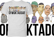 Odd Future Shirt OFWGKTADGAF Cartoon - White Shirt
