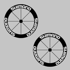 Shimano Carbon Bike/Cycling/Cycle/Push Bike Wheel Decal Sticker Kit
