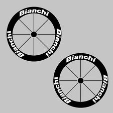 Bianchi Carbon Bike/Cycling/Cycle/Push Bike Wheel Decal Sticker Kit