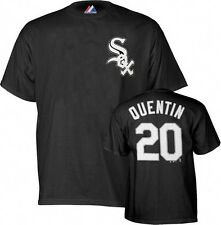 Chicago White Sox # 20 Carlos Quentin MLB Majestic Tee Shirt Big & Tall Sizes