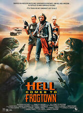 HELL COMES TO FROGTOWN Movie Poster Sci-Fi Rowdy Roddy Piper