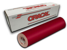 "1 Roll 24"" X 60"" - Dark Red Oracal 651 Craft & Hobby Cutting Vinyl"