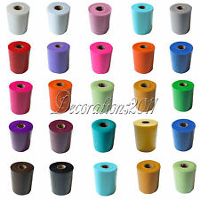 "TULLE Roll Spool 6""x100yd Tutu Wedding Gift Craft Party Bow 6""x300'Colours Pick"