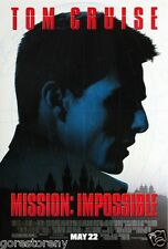 MISSION: IMPOSSIBLE Movie Poster Tom Cruise Action Ghost Protocol