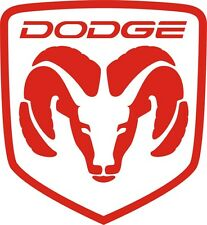Large pair ram  logo decal sticker 18.5 x 20 inches you pick color