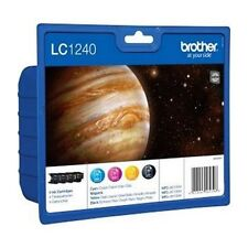 Genuine Brother LC1240VALBP Multipack Ink Cartridges for DCP MFC Printers