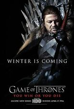 GAME OF THRONES Movie Poster HBO Medival Lord of The Rings
