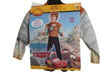 Boys Disney Cars 2 Tow Mater Muscle Halloween Costume & Hat Size 2T 4 6 7 8 NEW