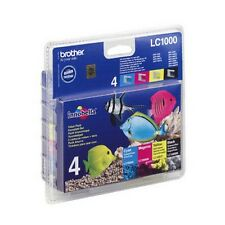 Genuine Brother LC1000VALBP Multipack Ink Cartridges for DCP MFC Fax Printers