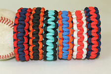 Baseball Paracord Survival Bracelet Team Colors MLB NATIONAL LEAGUE EAST