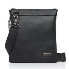 Fine New Casual Fashion Mens Leather Shoulder Bag-6911-Cross Style