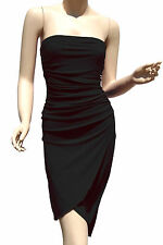 Strapless Dresses Party Cocktail Womens Style Clubwear Black Mini Dress S M L