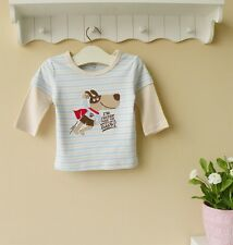 "Baby Toddler Long-Sleeved Top T-Shirt ""Super Dog""~~ Size 1-6"