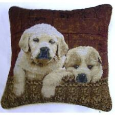 Tapestry Cushion Cover in Puppies/Dogs or Cats/Kittens design ***FREE P&P***