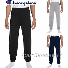 Champion Mens Elastic Athletic Eco Sweatpants Cotton/Polyester S M L XL 2XL P900