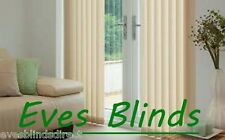 Premium Quality Cream Vertical Blinds Made to Measure 89mm New