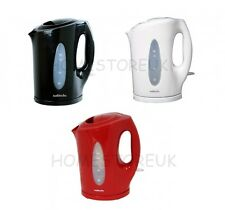 RED/BLACK/WHITE JUG KETTLE CORDLESS ELECTRIC 1.7L BOILING WATER TEA COFFEE 2200W