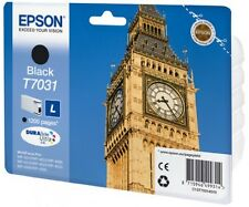 Genuine Epson T7031 - C13T70314010 Black Printer Ink Cartridge Big Ben