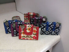VERA BRADLEY FRILL PRETTY&PETITE CARD HOLDER CHOICE OF COLOR NWTS&FREE SHIPPING