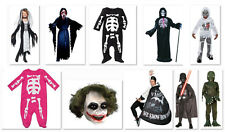 NWT Kids Baby Boys Adults Halloween Costume Party NEW Skeleton Vampire Black