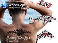 Tattoo Paper-Inkjet-Make Your Own Removable Tattoo
