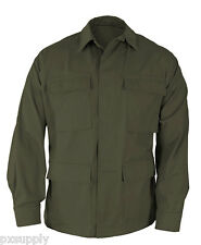 OLIVE BDU COAT COATS COTTON POLYESTER TWILL PROPPER F5454