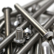 M8 (8mm) THREAD, A2 STAINLESS STEEL SOCKET BUTTON HEAD ALLEN SCREW BOLTS