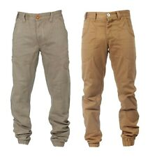LATEST ETO ARRIVALS BEIGE COLOURED CUFFED LEG CHINO JEANS *BARGAIN PRICE*