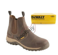 Dewat  Radial Safety Dealer Chelsea Safety Brown Work Boot  6-12 - 100%Authentic