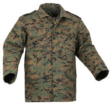 M-65 FIELD JACKET WOODLAND DIGITAL CAMO WITH LINER MILITARY COAT M65 ROTHCO 8590
