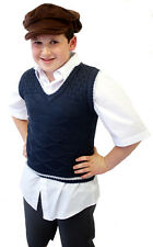 WARTIME/WW2/1940's  EVACUEE Childrens knitted TANK TOP/Sleeveless Pullover