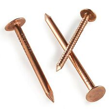 COPPER CLOUT NAILS /TREE STUMP KILLERS 30mm 40mm, 50mm LENGTHS 3.65 & 2.65mm FWS