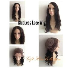 GlueLess Virgin Indian Remy Lace Wig * NEW STOCK* + * UK FREE NEXT-DAY DELIVERY*