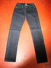 Worn Brand Jeans Skinny Straight Leg Low Rise Blue Stretch Denim -NWT