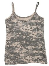 TANK TOP WOMENS ARMY ACU DIGITAL CAMO TOP ONLY VARIOUS SIZES ROTHCO 4477
