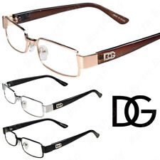 New Womens Mens DG Clear Lens Frames EyeGlasses Designer Fashion Optical RX Cool