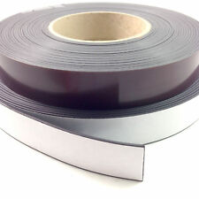 SELF ADHESIVE MAGNETIC TAPE MAGNET STRIP A & B 12.5mm, 20mm & 25mm (FWS) FRIDGE