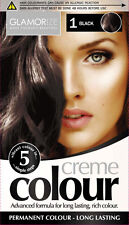 Permanent Hair Colourant Dye Creme - 4 Colours To Choose From