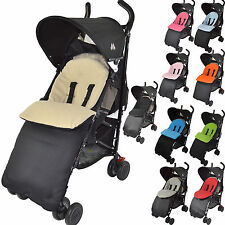 UNIVERSAL FOOTMUFF COSY TOES FIT BUGGY PUSCHAIR STROLLER PRAM BABY TODDLER NEW