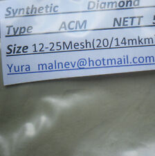 Diamond Powder Polishing,Lapidary sizes50.000to500Grit  weight 1000cts.=200Grams